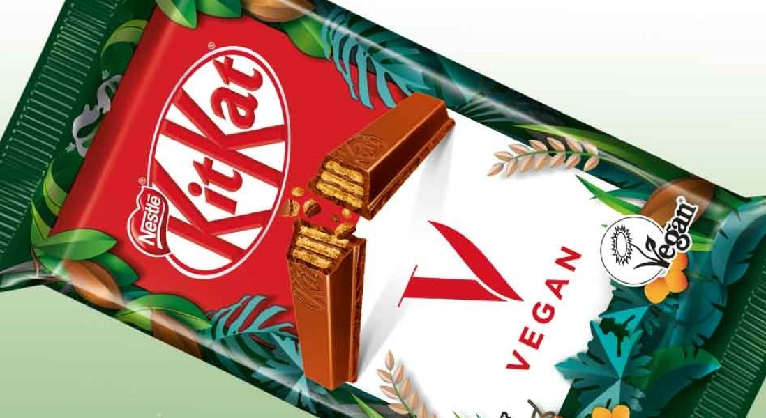 Nestlé to Roll Out Vegan KitKat Bar Made with Rice-Based Milk Alternative