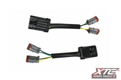 RZR XP Plug & Play Headlight Adapter, Harness to 2 Deutsch
