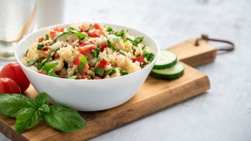 Fresh and Tangy Millet Tabbouleh