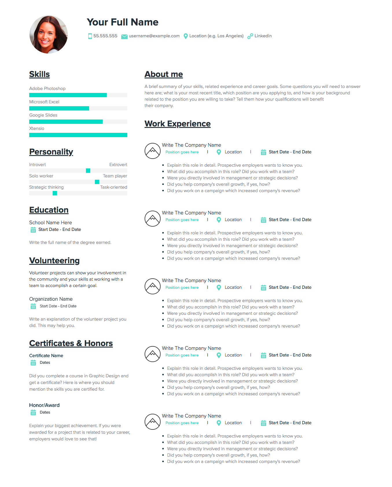 resume making course