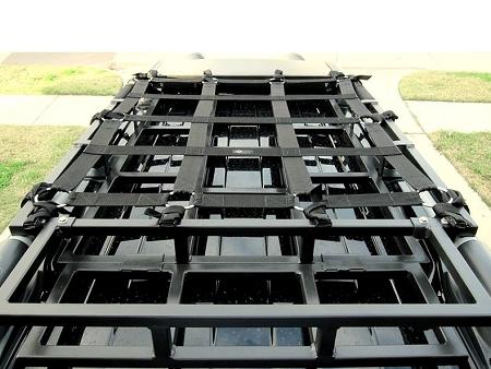 hd all weather raingler net for dephep roof rack
