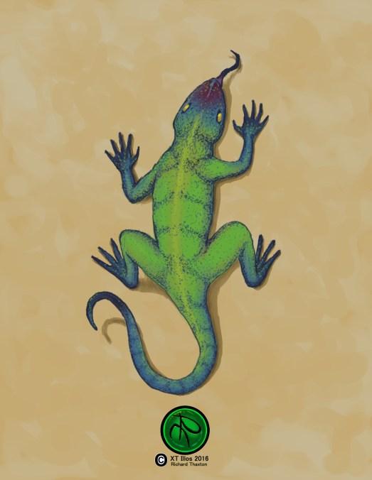Mel 2016 Digital 1224x1584 #Lizard #FantasyArt #Illustration #Digital #DigitalArt. Prints and one time giclee available.
