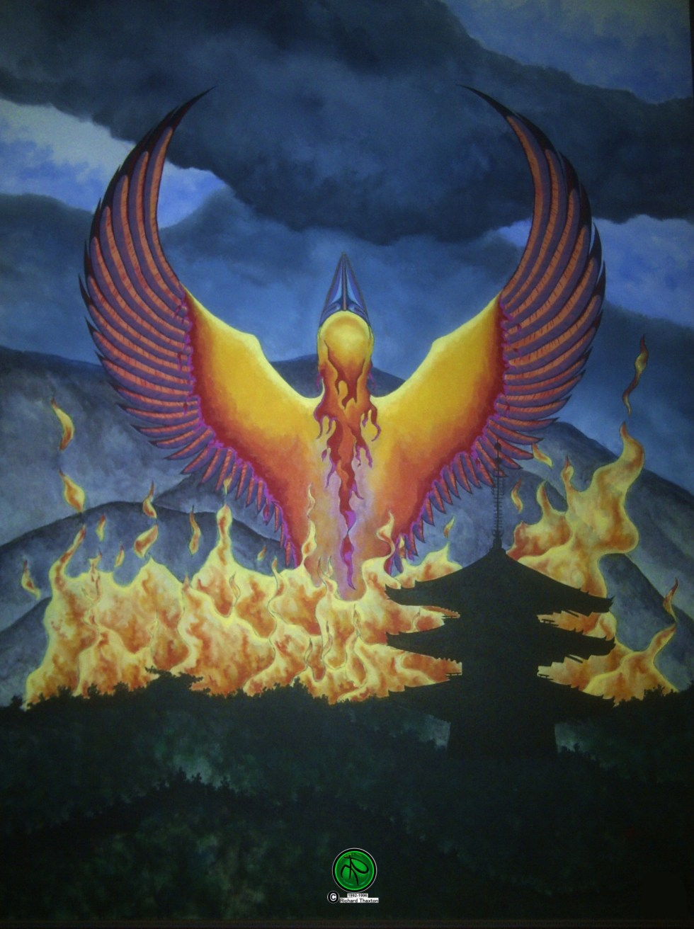 Phoenix Japan 1992-1996 w LOGO