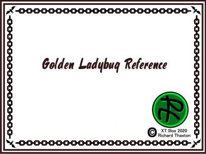 Golden Ladybug Reference