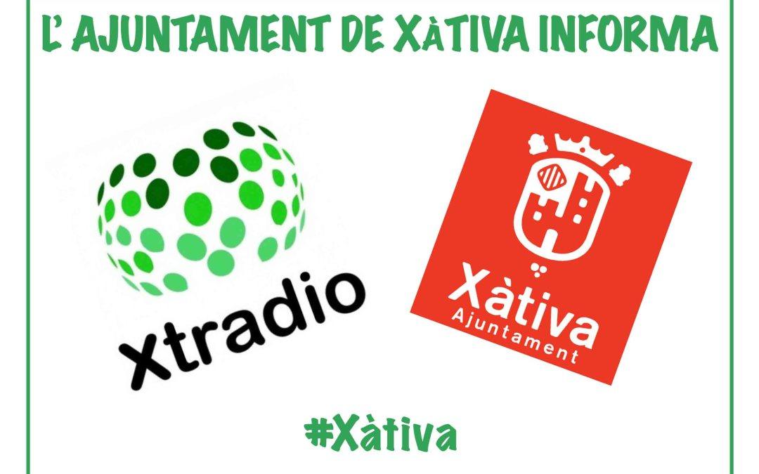 VÍDEO – L'Ajuntament de Xàtiva Informa 14-02-20