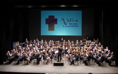 La Banda de la Vella interpreta la música en l'acte central de la Trobada Diocesana de Setmana Santa