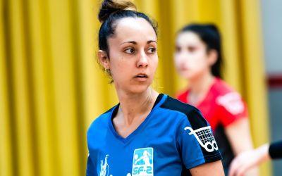 La jugadora del CV Xàtiva Sara Rodríguez també lluita contra la COVID-19