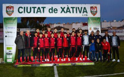 El Ciutat de Xàtiva aconsegueix l'ascens a Lliga Autonòmica amb l'INFANTIL A