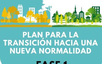 Informació oficial per a la FASE 1 del desconfinament