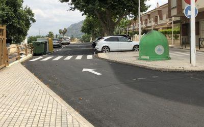Finalitzen les obres d'urbanització de la Plaça Espanya a Xàtiva