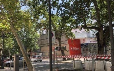 Xàtiva canvia la infraestructura elèctrica en l'Albereda i Avinguda Selgas per protegir l'arbrat