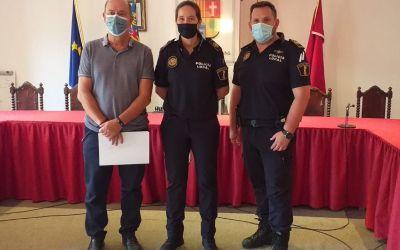L'Alcúdia de Crespins dona la benvinguda a una nova agent de la Policia Local