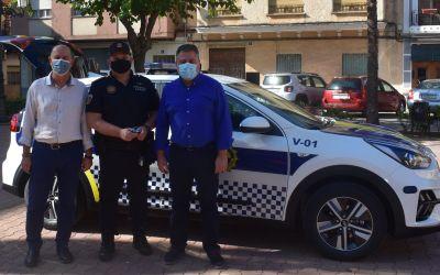 L'Ajuntament de l'Alcúdia de Crespins adquireix un nou cotxe híbrid per a la Policia Local