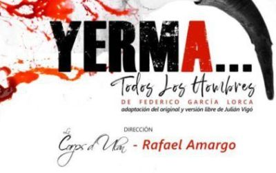 La companyia Rafael Amargo arriba hui divendres al Gran Teatre amb «Yerma, todos los hombres»