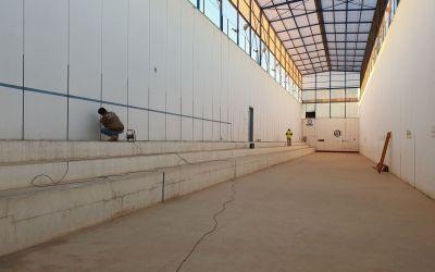 L'Ajuntament de Moixent inicia les obres al Trinquet Municipal