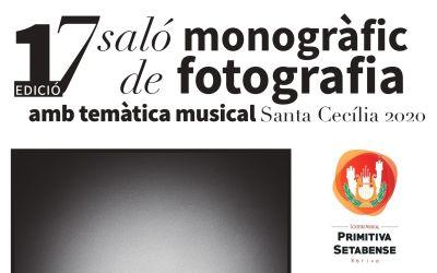 La Primitiva Setabense convoca el XVII Saló Monogràfic de Fotografia amb Temàtica Musical