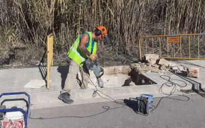 L'Ajuntament de Xàtiva millora els accessos a la Séquia Murta al seu pas per l'Avinguda Barxeta