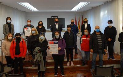 S'incorporen els deu treballadors de la Brigada Covid per tal d'efectuar tasques de desinfecció a Xàtiva
