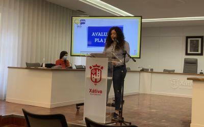 L'Ajuntament de Xàtiva exposa la primera de les avaluacions anuals del Pla Jove