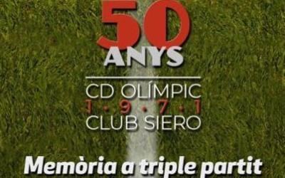 El Gran Teatre acull l'acte de commemoració del 50 aniversari de l'eliminatòria entre el CD Olímpic i el Club Siero