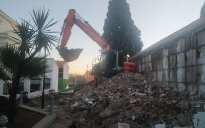 L'Alcúdia de Crespins inicia les obres per a la construcció de 108 nínxols nous al cementeri