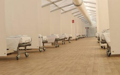 La Conselleria de Sanitat condiciona 280 llits als hospitals de campanya