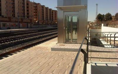 Renfe inicia la intervenció per millorar l'accessibilitat en l'estació de Xàtiva