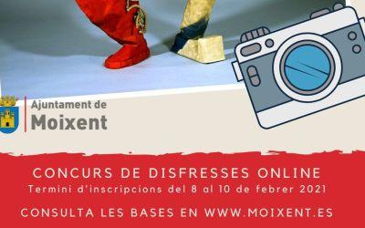 L'Ajuntament de Moixent convoca un concurs en línia per celebrar el carnestoltes