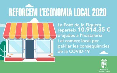 La Font de la Figuera reparteix quasi 11.000 euros a l'hostaleria i el comerç local