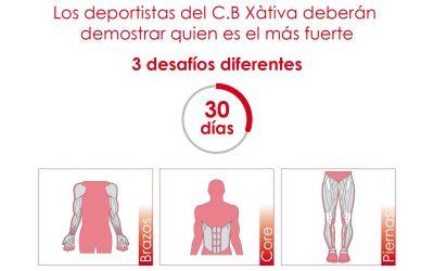 El CB Xàtiva llança als seus esportistes el Challenge Decathlon