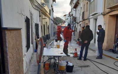 L'Ajuntament de Xàtiva repara el clavegueram del carrer Sant Joaquim