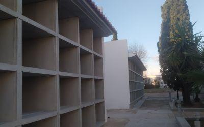 L'Alcúdia de Crespins finalitza la construcció de 108 nous nínxols al cementeri