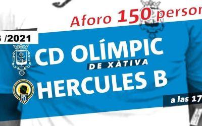 El CD Olímpic vol prolongar la seua ratxa amb la tornada del públic al Camp Murta