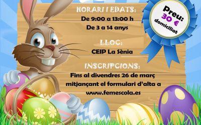 L'Alcúdia de Crespins obri el termini d'inscripció per a l'Escoleta de Pasqua