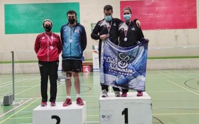 M. José Mompó subcampiona en la prova de dobles mixt A2 en el territorial de Medina del Campo