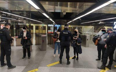La Policia de la Generalitat imposa quasi 3.500 multes durant el tancament perimetral de les ciutats més poblades