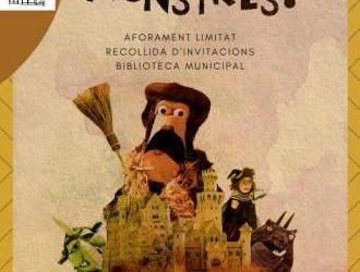 """La Biblioteca Municipal de Xàtiva celebra el Dia del Llibre amb l'espectacle """"On estan els monstres?"""""""