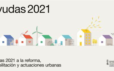 La Conselleria d'Habitatge convoca les ajudes del Pla Renhata 2021 per a reformes d'interiors amb un pressupost de 3,9 milions d'euros
