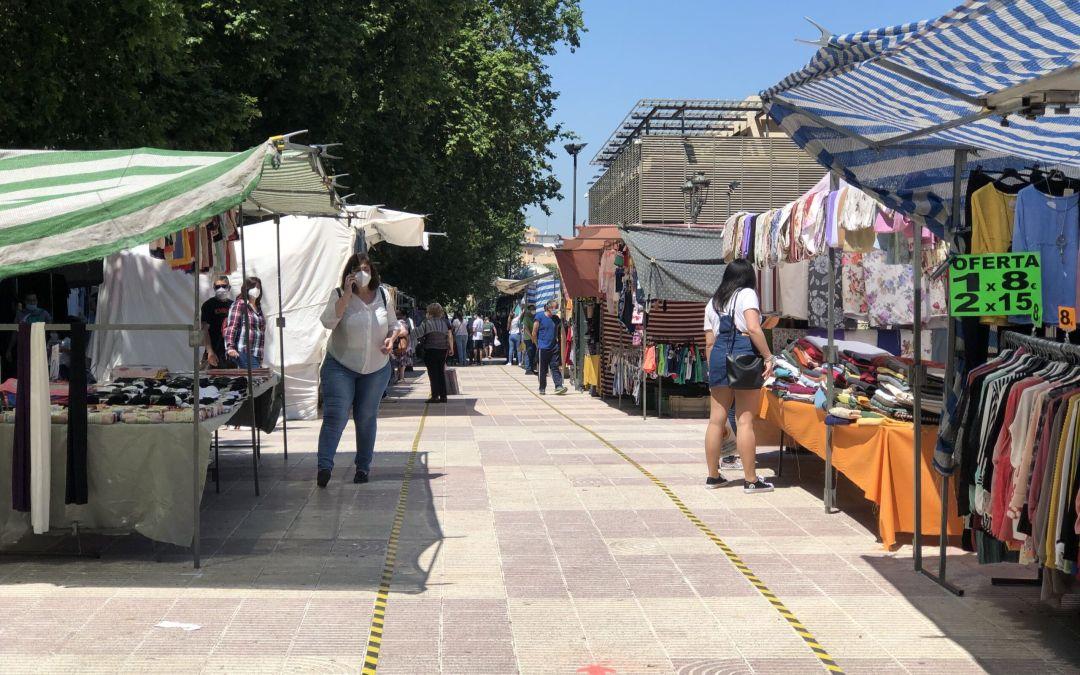 L'Ajuntament de Xàtiva suspén el pagament de la taxa d'ocupació de via pública del mercat ambulant
