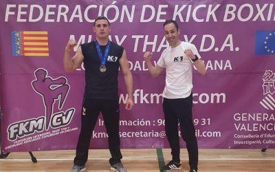 El lloser Noel Luna es proclama campió de KickBoxing de la Comunitat Valenciana