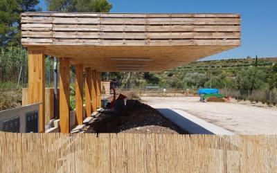 L'Ajuntament de Canals programa una visita a les illes de compostatge de Carrícola i Otos