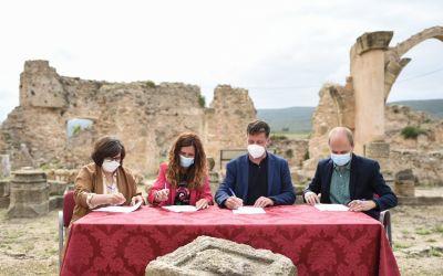 Moixent, Montesa, Vallada i La Font de la Figuera signen les al·legacions conjuntes enfront de la línia d'alta tensió
