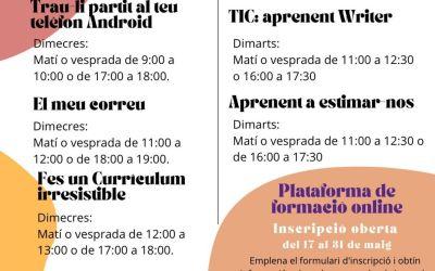L'escola d'empoderament de la Casa de les Dones de Xàtiva reprén la seua activitat amb cursos per a grups reduïts