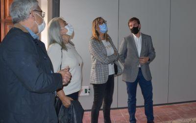 L'alcalde de Xàtiva i la gerent del DSXO visiten les obres del Consultori de la Seu