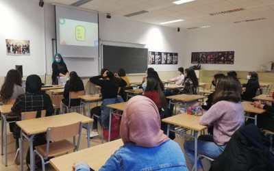 La regidoria de Joventut de l'Ajuntament de Xàtiva reprén les xerrades informatives als diferents centres educatius de la ciutat