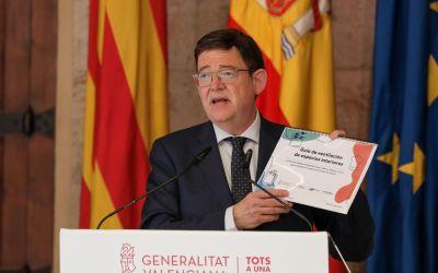 Ximo Puig anuncia l'avançament al dilluns de la vacunació de la franja d'edat d'entre 30 i 39 anys