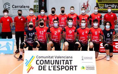 Quatre equips de la pedrera del Club Voleibol Xàtiva es classifiquen per a disputar els Campionats d'Espanya