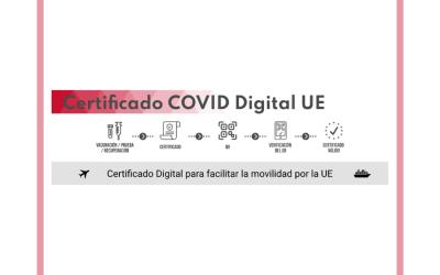 La Comunitat Valenciana emet el certificat COVID Digital de la Unió Europea