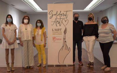 30 artistes i 30 persones amb diversitat funcional i mental pintaran junts a Xàtiva gràcies al projecte Solidarid-Art