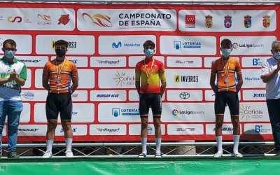 Tres medalles per als ciclistes de l'Escola Bicicletas Sanchis en els Campionats d'Espanya Escolars